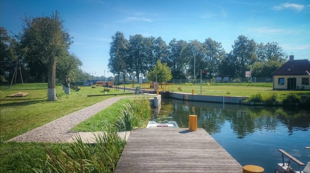 Otwarcie trasy turystycznej G.J. Steenke - Śluza w Miłomłynie