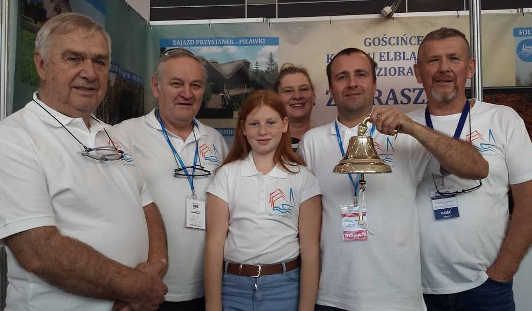 Złoty Dzwon - nagroda PZŻ dla Gościńców Kanału Elbląskiego i Jezioraka